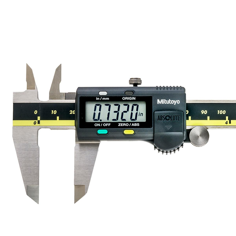 "0-12/""// 0-300mm Absolute Digimatic Caliper Mitutoyo 500-193 NEW 0.0005/""//0.02"