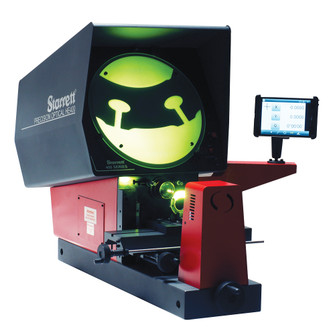 Starrett HE400-M1-SP Horizontal Bench Optical Measuring Projector MetLogix M1 with 10X Mag Lens